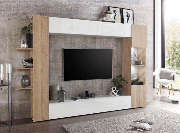 LC TV-Wand SORANO (4-tlg.)