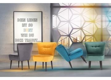 7 sparen sessel bob dunkelgr n nur 119 99 cherry m bel poco. Black Bedroom Furniture Sets. Home Design Ideas