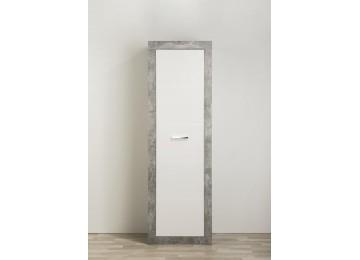 Garderobenschrank AMIRA Beton-Optik/weiß 60 cm