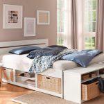37% sparen – HOME AFFAIRE Bett Stauraumbett LEVI – 90/200 cm – nur 219,99€
