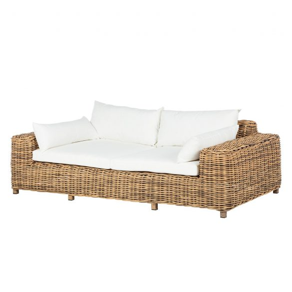 Loungesofa CALLA MILLOR (2-Sitzer) - POLYRATTAN von ARS NATURA